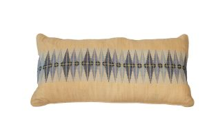 Embroidered Cushion - PALESTINIAN SILK Patterns 60x30 (Style 5)