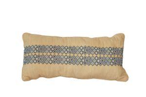 Embroidered Cushion - PALESTINIAN SILK Patterns 60x30 (EMB 2)