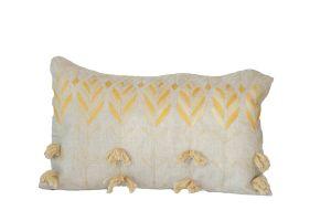 Embroidered Cushion - Akkoub 60x40
