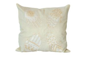 Embroidered Cushion – Henna Hands 50x50