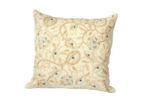 Embroidered Cushion – Blue Eye 50x50