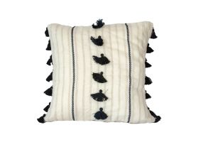 Embroidered Cushion - Saddle 50x50