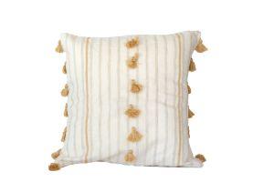 Embroidered Cushion - Saddle 50*50 - Gold