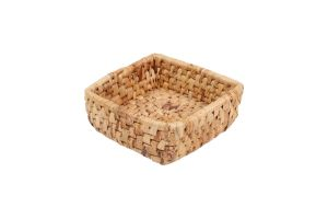 SQUARE BASKET - BANANA LEAVES – SMALL