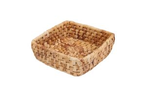 SQUARE BASKET - BANANA LEAVES – MEDIUM