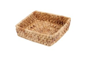 SQUARE BASKET - BANANA LEAVES – LARGE