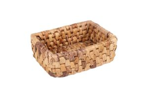 RECTANGULAR BASKET - BANANA LEAVES – SMALL