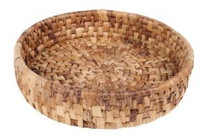 TREATS BASKET - BANANA LEAVES – LARGE