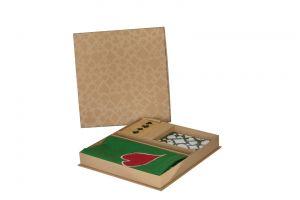 صندوق خشبي لأكسسوارات لعبة الشدة