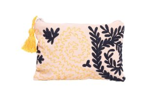 MAKEUP BAG-Yellow