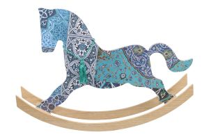 BIG HORSE DECOUPAGE